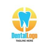 Diente para la odontología/el stomatologist/el logotipo dental de la clínica Foto de archivo