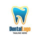 Diente para la odontología/el stomatologist/el logotipo dental de la clínica Fotografía de archivo