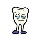 diente sonriente de la historieta cómica Fotografía de archivo libre de regalías