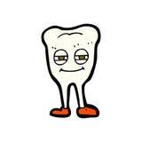 diente sonriente de la historieta cómica Imagen de archivo libre de regalías