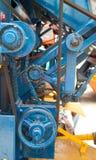 Diente y engranaje del motor Foto de archivo libre de regalías