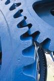 Dientes azules grandes Foto de archivo libre de regalías