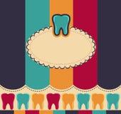 Dientes coloridos stock de ilustración
