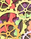 Dientes del color libre illustration