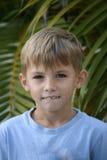 Dientes del muchacho Fotos de archivo