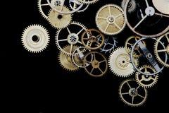 Dientes del reloj Foto de archivo libre de regalías
