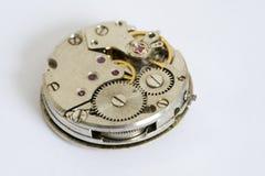 Dientes en el reloj Fotos de archivo libres de regalías