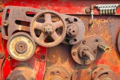 Dientes oxidados viejos Foto de archivo
