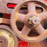 Dientes oxidados viejos Foto de archivo libre de regalías
