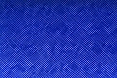 Diep blauwe kunstmatige kunstleer voor textuurachtergrond royalty-vrije stock foto