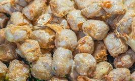 Diep Fried Crab Meat Rolls of Hoi Jo Het traditionele Chinese voedsel van Thailand en voor voorgerecht De Aziatische Traditionele stock fotografie
