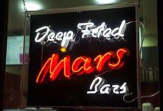 Diep Fried Mars Bars royalty-vrije stock fotografie