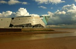 Diep, Kingston op Hull, het UK. Royalty-vrije Stock Foto