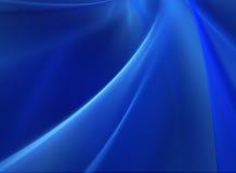Diepe Blauwe Abstracte Achtergrond Stock Afbeelding