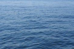 Diepe blauwe overzees Royalty-vrije Stock Afbeeldingen