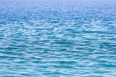 Diepe blauwe overzees Royalty-vrije Stock Afbeelding