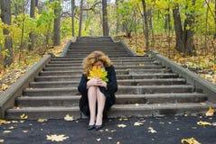 Diepe depressie Royalty-vrije Stock Afbeeldingen