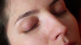 Diepe het Dromen Slaap met rem stock videobeelden