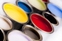 Diepe kleuren van verf Royalty-vrije Stock Afbeelding