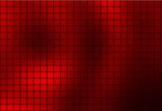 Diepe rode samenvatting rond gemaakte het mozaïekachtergrond van Bourgondië stock illustratie