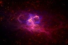 Diepe ruimte starfield Royalty-vrije Stock Afbeeldingen