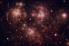 Diepe ruimte starfield Royalty-vrije Stock Fotografie
