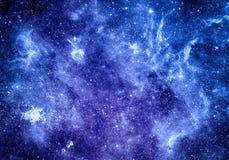 Diepe ruimteachtergrond Stock Fotografie