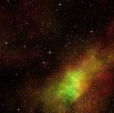 Diepe ruimtekosmossterren Stock Foto's
