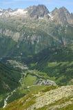 Diepe vallei Royalty-vrije Stock Afbeeldingen