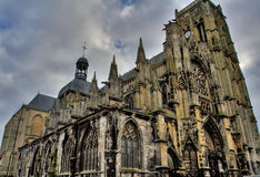 Dieppe, France - Church of St. Jacques Stock Photo