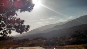 Diepte van Bergketens Royalty-vrije Stock Foto