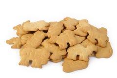 Dier gevormde cracker Stock Fotografie