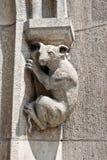 Dier op het Nieuwe Stadhuis in München Royalty-vrije Stock Afbeeldingen