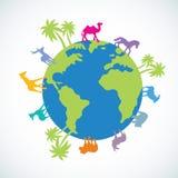 Dier ter wereld Stock Afbeeldingen