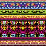 Dieren Mexicaanse achtergrond Stock Afbeelding