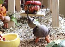 Dieren van groenten worden gemaakt die Royalty-vrije Stock Afbeelding