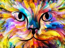 Dieren van Kleur stock illustratie