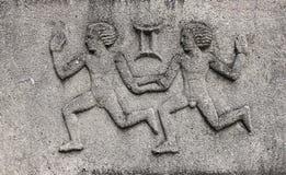 Dierenriem - Tweeling of Tweelingen stock afbeelding