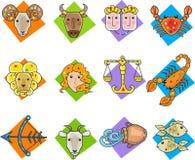 Dierenriemtekens Royalty-vrije Stock Afbeelding