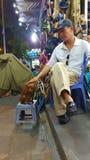 Dierenwinkel in Hanoi Stock Foto's