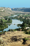 Dierkes lake park. And snake river near twin falss in Idaho, usa Stock Images