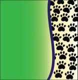 Dierlijke groene achtergrond Stock Afbeelding