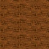 Dierlijke huidhand getrokken textuur, Vector naadloos patroon die, schets dierlijke huiddruk trekken Stock Fotografie