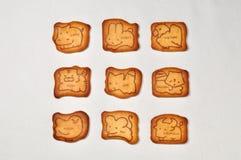 Dierlijke koekjes Royalty-vrije Stock Foto