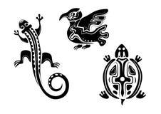 Dierlijke pictogrammen Royalty-vrije Stock Afbeeldingen
