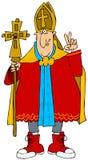 Papst in den Turnschuhen Lizenzfreie Stockbilder