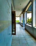 Diese leeren Korridore Stockbilder