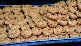 Indische Bonbons - Chandrakala Stockfoto