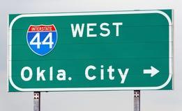 Diese Weise nach Oklahoma City Lizenzfreie Stockfotos