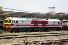 Diesel κινητήριο αριθ. Hitachi 4512 τραίνο αριθ. 14 Στοκ φωτογραφίες με δικαίωμα ελεύθερης χρήσης